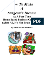 Surgeon's Income Manual