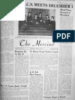 The Merciad, Nov. 26, 1945