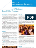 Investments in CAD CAM Pays Off for Practices