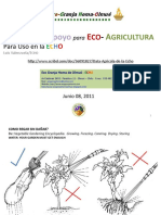 Data Agricola de la Echo