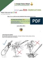 Data Agricola de la Echo