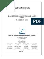 SMEDA Environmentally Controlled Dairy Farm (50 American Cows)