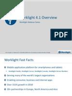 Worklight Mobile Platform 4.1 Overview