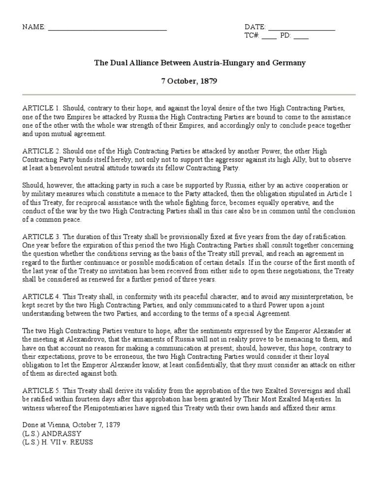 Whhdualliance Treaty International Law