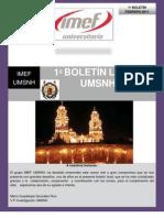 Boletin febrero IMEF Universitario  MORELIA