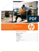 HP Network Node Manager I-Series Software-A Look Under the Hood