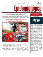 Estadísticas de Salud. Venezuela. Boletín Epidemiológico. Semana 05 del 30 de Enero al 05 Febrero  2011. Ministerio de Salud de Venezuela