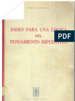 Betancur Cayetano - Bases Para Una Logica Del to Imperativo 1968