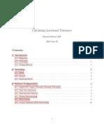 Calculating Locational Tolerances