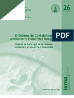 Síntesis de hallazgos de la relación ambiente y economía de Guatemala