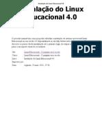 Instalação do Linux Educacional 4.0