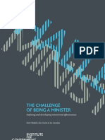 The Challenge of Being a Minister