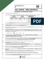 Cesgranrio 2006 Transpetro Engenheiro Junior Mecanica Prova