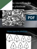 Teste de identificação dos plásticos