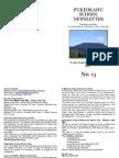 Pukeokahu Newsletter No.13