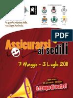 Programma Assicurarsi ai sedili 2011