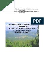 Organizarea Si Amenajarea Turistica a Statiunii Durau