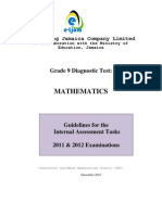 Grade-9-Math-IA-2011-revised-6-1-20111