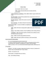 P.E. I Study Guide