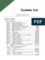 CA Corporations Code