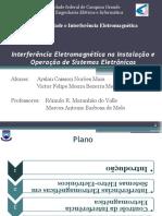 Interferência Eletromagnética na Instalação e Operação de Sistemas