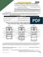 Junk Vehicle Affidavit - Washington State