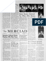 The Merciad, Oct. 30, 1957