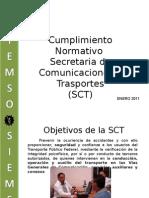 Presentacion de Servicios Como Tercero Autorizado de La SCT