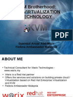 KVM Virtualization Technology