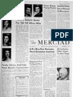 The Merciad, Nov. 5, 1958