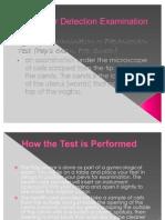 Cancer Detection Examination