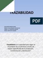 TRAZABILIDAD