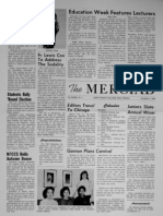 The Merciad, Nov. 4, 1960
