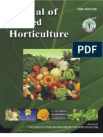 Selected Contents Index of Journal of Apllied Horticulture-3