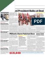 Yemeni President Balks at Deal/Kim In Eastern China City