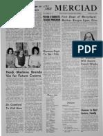 The Merciad, Feb. 14, 1962