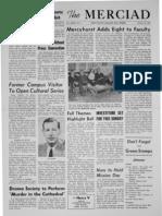 The Merciad, Oct. 10, 1962