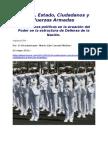 MICM  para impactoCNA Instituciones políticas en la ecuación del Poder en la estructura de Defensa de la Nación