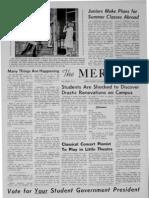 The Merciad, March 21, 1963