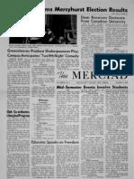 The Merciad, Nov. 11, 1964