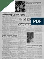The Merciad, April 8, 1965