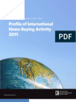 2011 Profile of International Home Buying Activity 051711