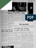The Merciad, March 22, 1968