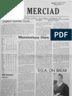 The Merciad, Oct. 27, 1969