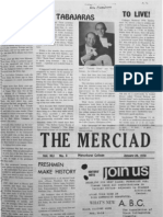 The Merciad, Jan. 29, 1970