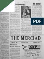 The Merciad, Jan. 29, 1970