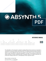 Absynth 5 Reference Manual English