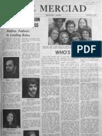 The Merciad, Nov. 6, 1970