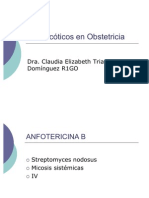 Antimicóticos en Obstetricia