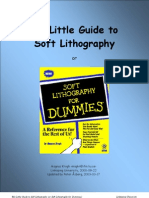 Soft Lithography for Dummies